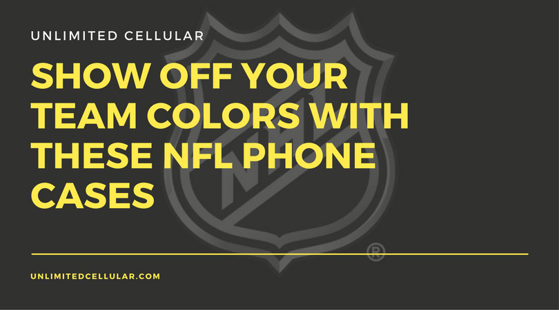 Show Off your Team Colors with these NFL Phone Cases