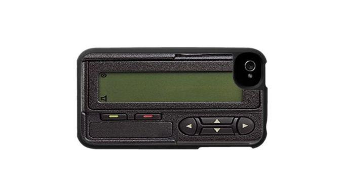 pager phone case