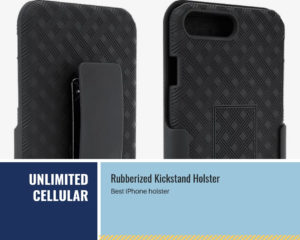 Rubberized Kickstand Holster
