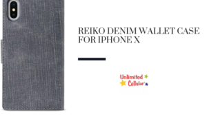 Reiko Denim Wallet Case for iPhone X