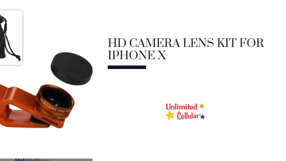 The HD Camera Lens Kit for iPhone X