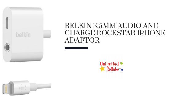 Belkin 3.5mm Audio and Charge Rockstar iPhone Adaptor