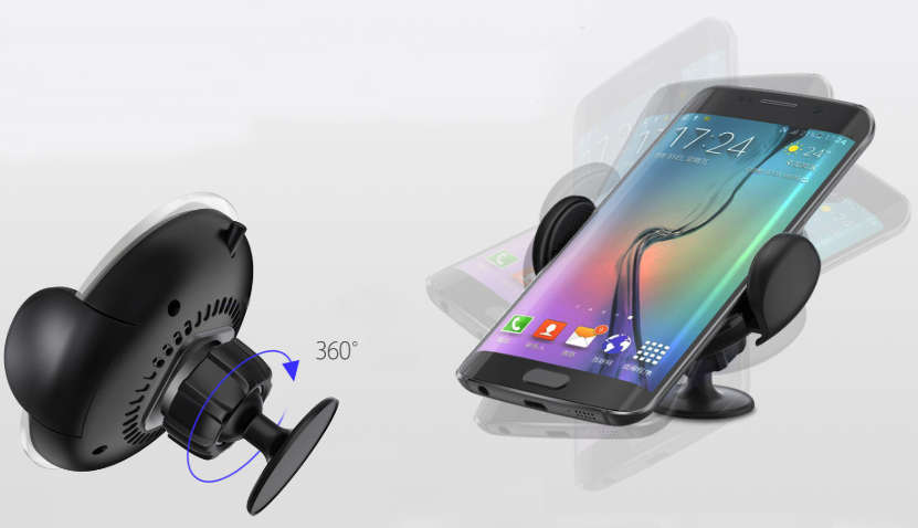 KuKu Car Mount Wireless Charger